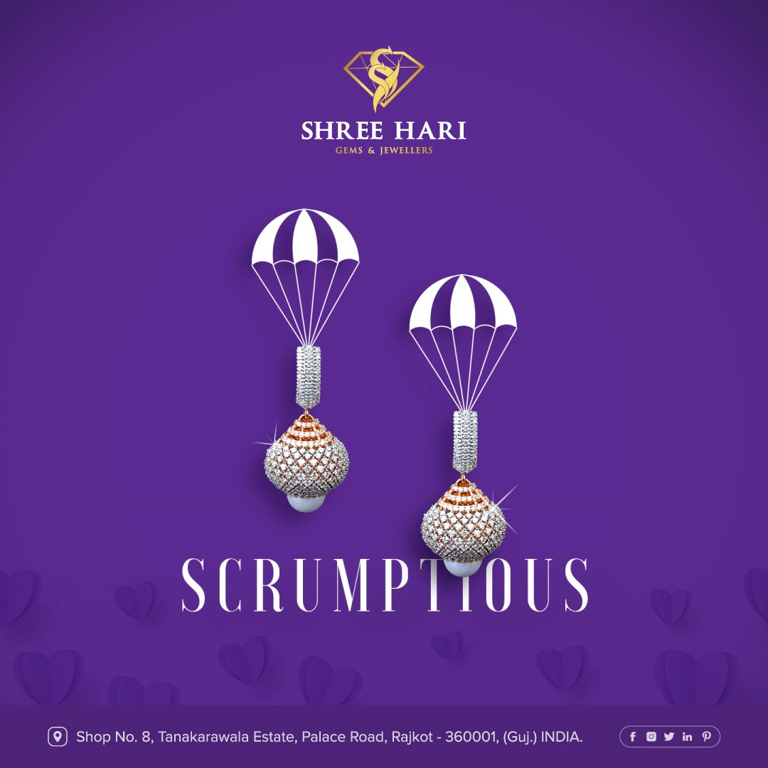 Scrumptious . . . #ShreeHari #ShreeHariJewellers #Jewellers #Collection #Gold #Silver #JewelryArt #GoldJewellery #Jewellery #Fashion #Gold #Bracelet #Jewels #Style #Accessories #Love #Ring #Wedding #FashionJewelry #Necklace #Earrings #Trendsetter #OnTrend #ILoveJewelry