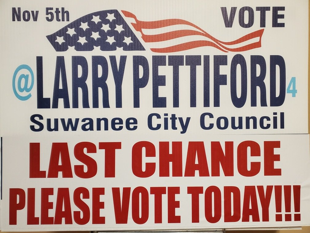 This is a great, well deserving man. If you're in the Suwanee area, don't forget the vote! #Westincares