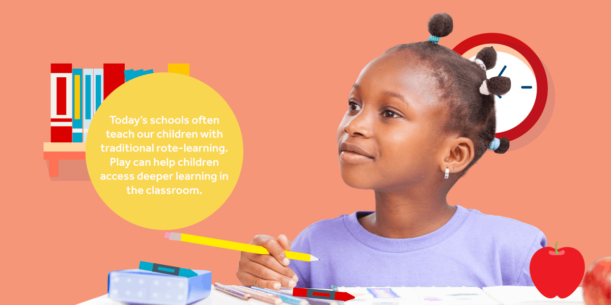 Do you think children learn through play? We know they do.