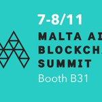 Image for the Tweet beginning: Blockchain Island -  here