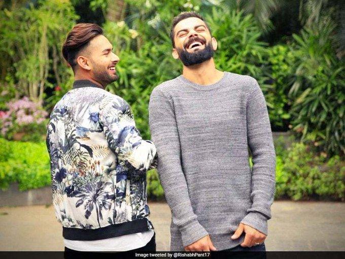 Happy Birthday Chachaaa : Rishabh Pant s Message For Virat Kohli Invites Jokes Onmessage
