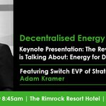 Image for the Tweet beginning: Don't miss the Decentralised Energy