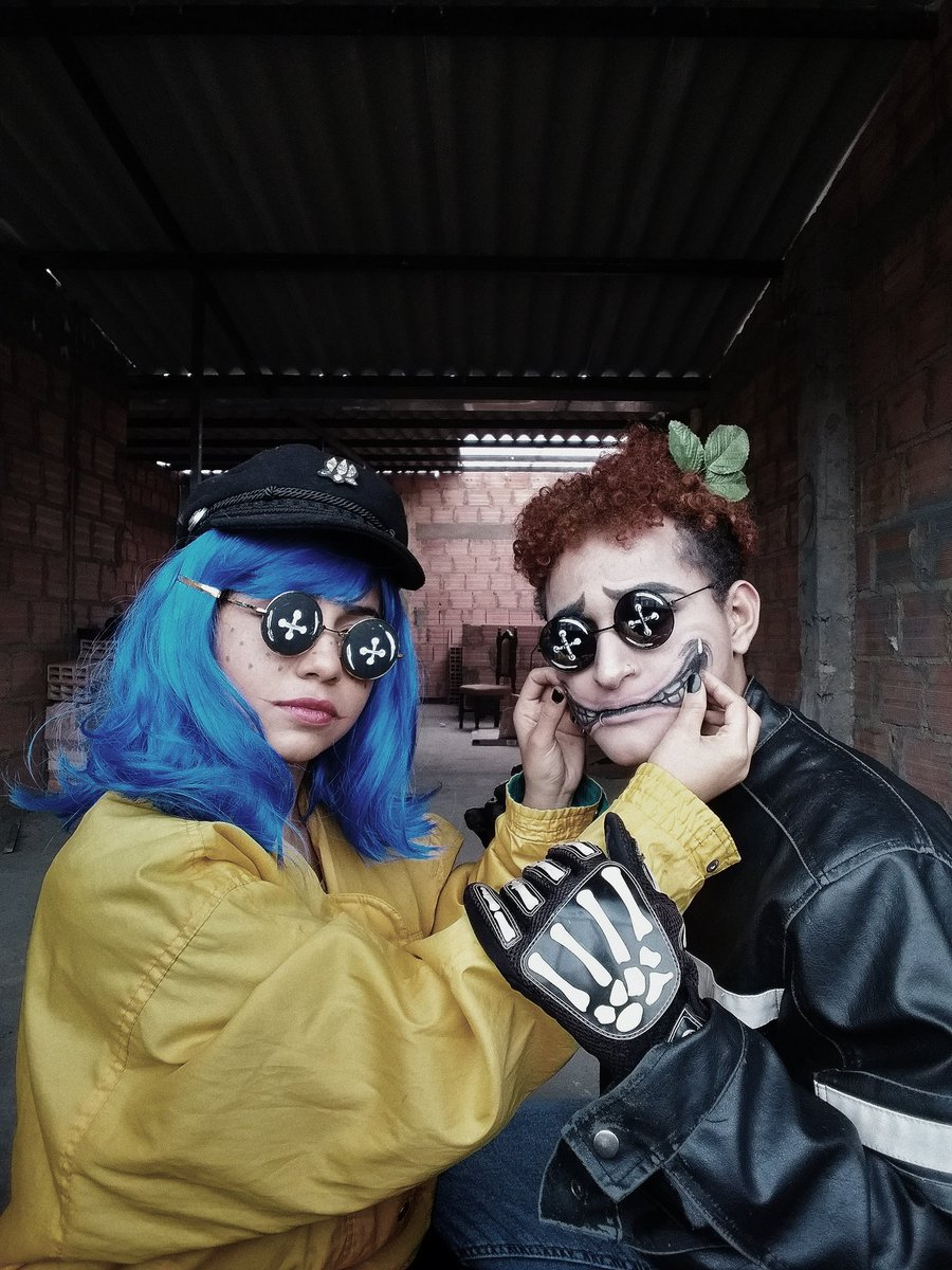 Alejandro Barrios On Twitter Wybie Lovat Coraline Wybie Costume Cosplay Wybielovat Halloween2019 Makeup Makeupartist Fakesmile Coralinecosplay Halloween Https T Co Dvnxl4vxvi
