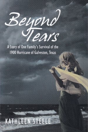 Up next: Beyond Tears, by Kathleen Steele. A historical novel of a family's experience during the storm of 1900. Based on a true story.  Saturday, 11/9 2-4 pm