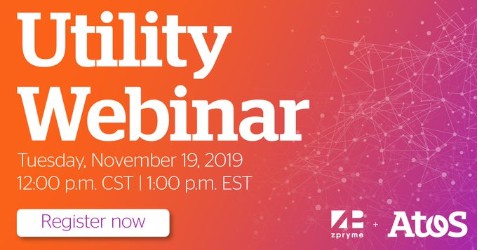Join Zpryme, Exelon and Atos for a webinar that covers the incremental changes utilities...