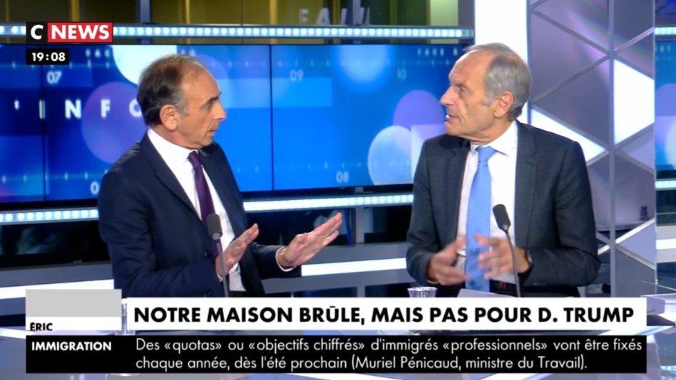 Sur @CNEWS dans #Facealinfo, merci #Zemmour de dire ce que je répète tous les jours ici : Le problème le plus important aujourdhui, ce nest pas que les USA restent ou pas dans les accords de Paris, mais plutôt la situation démographique dans les pays pauvres Bravo 👏🏽