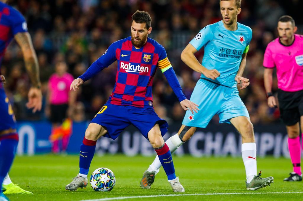 بدون أهداف.. التعادل يسيطر على مواجهة برشلونة وسلافيا براغ في دوري الابطال