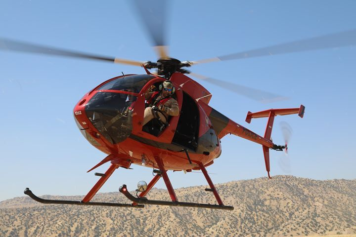 MD530F Helicopter Poster Mesa AZ Military Version