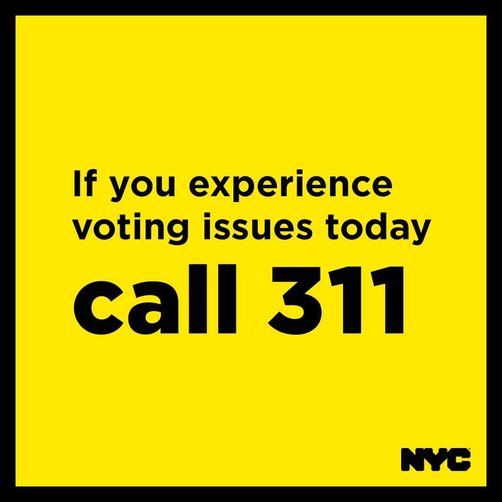 Atención: los votantes registrados no necesitan mostrar una identificación para votar, a menos que no hayan proporcionado información de identificación en su formulario de registro.   NYC BOE envió tarjetas de votante, son opcionales.   Llame al 311 si tiene preguntas.