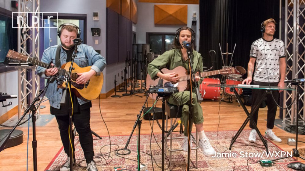 If youve only heard Little Talks, Of Monsters and Mens (@monstersandmen) latest synth-forward album might sound like a seriously sonic shift. Hear the Icelandic band on @WorldCafe. n.pr/2NmbTQW