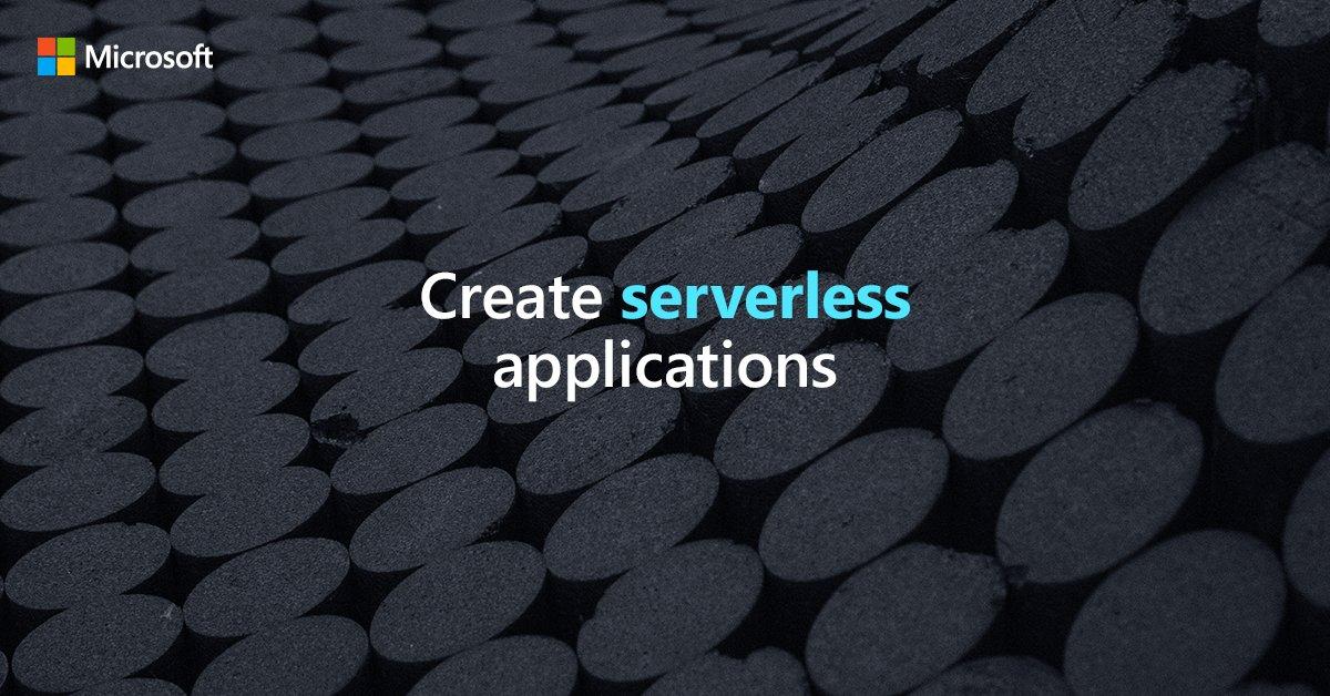 Découvrez comment créer des applications #serverless évolutives. Téléchargez notre guide:  http:// msft.it/6018TTzmk     #ServerlessComputing #AzureFunctions<br>http://pic.twitter.com/sR4bOPJhkU