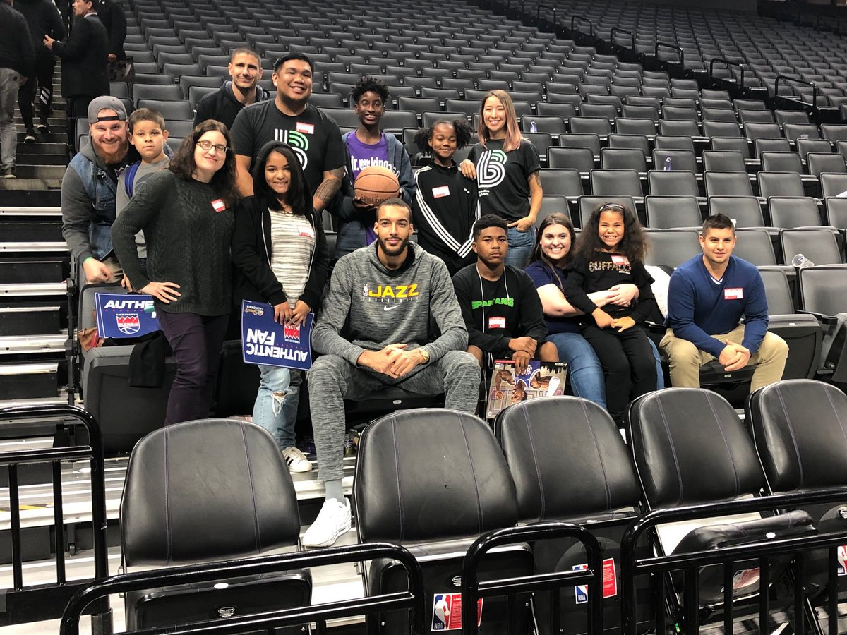 3 Blocks from @rudygobert27 means $3000 for  @BBBSGreaterSac Thanks for cheering with us in your hometown.  We love the mentoring program you provide.  Keep up the valuable work!!