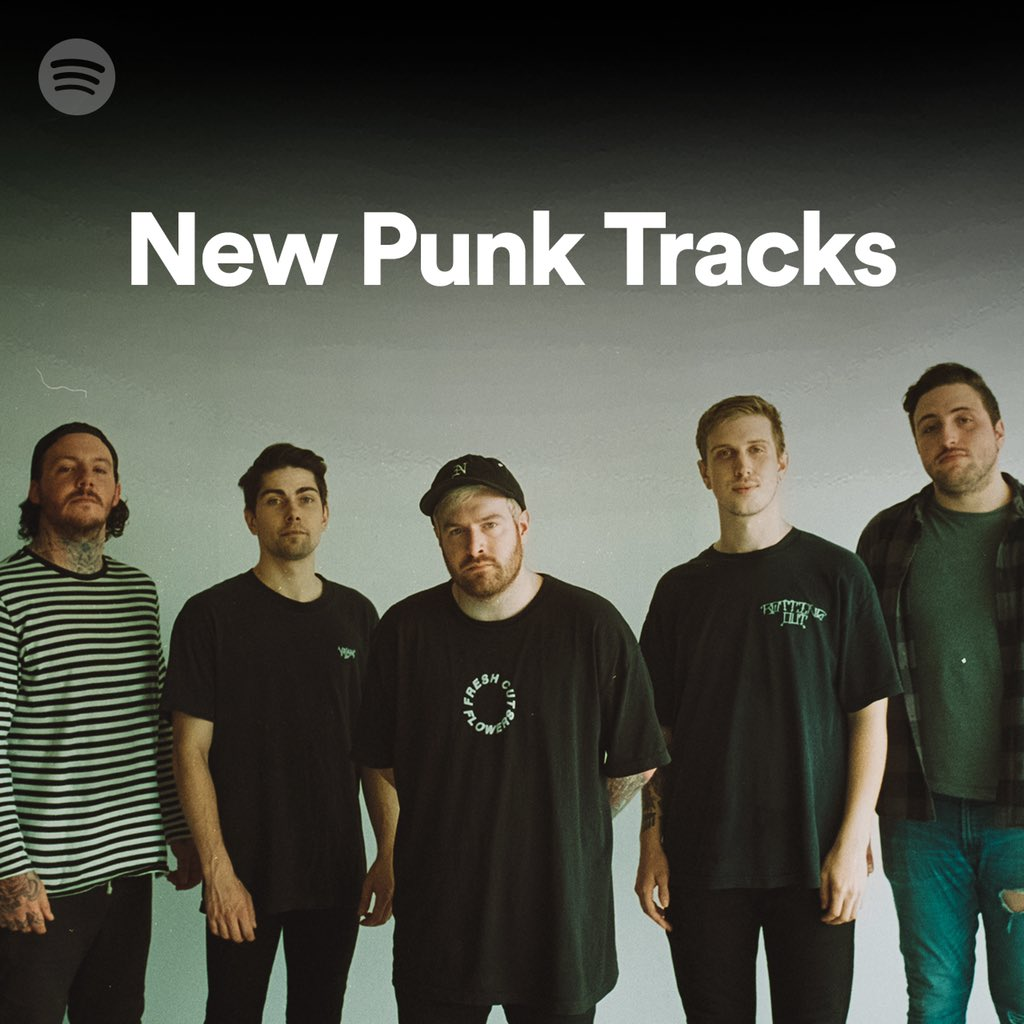Thanks to @Spotify for the feature on New Punk Tracks playlist!