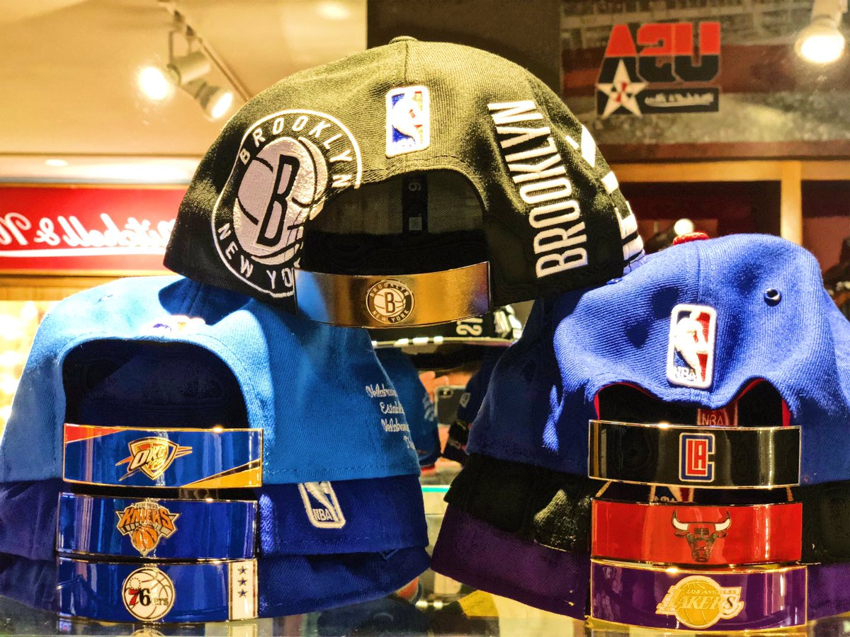 Just Released : New Snaps for Caps now available @NBASTORE NYC