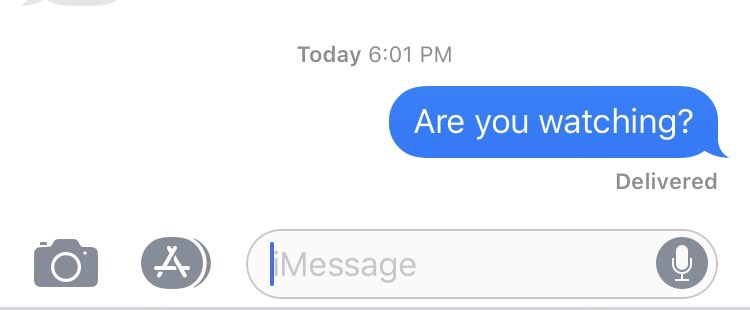Six minutes in and no response yet. Fingers crossed.