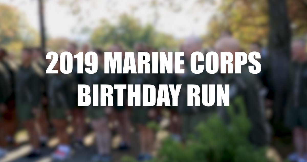 Today, @CMC_MarineCorps and @USMCSgtMaj joined Marines in a motivational run from @jbmhh to @NPSGWMP's Marine Corps War Memorial, beginning a week of celebration leading up to the Corps' birthday on Sunday. #HappyBirthdayMarines