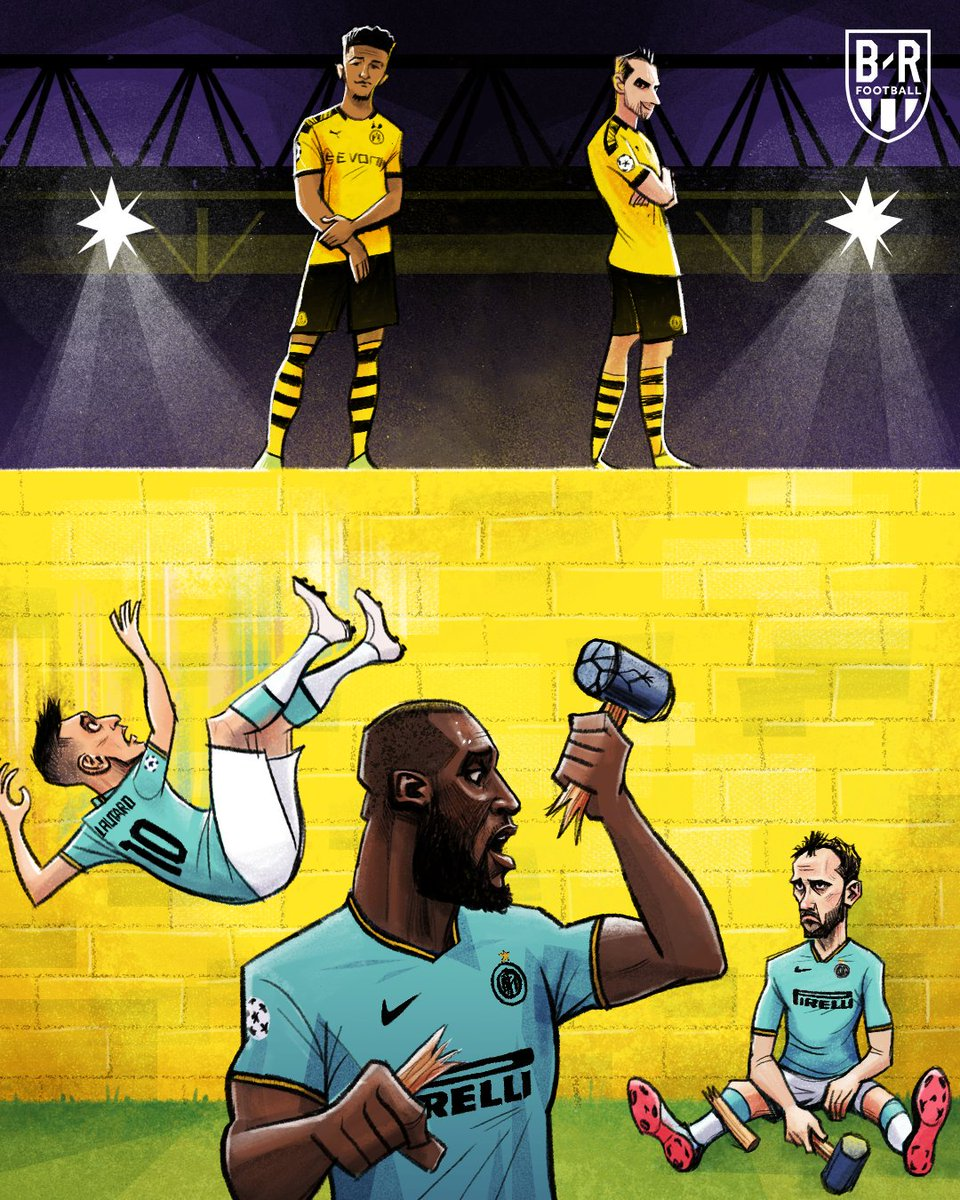 HT: Dortmund 0-2 Inter FT: Dortmund 3-2 Inter  Don't mess with the Yellow Wall  <br>http://pic.twitter.com/eWPCsYVG00