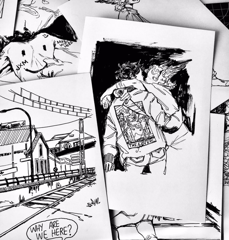 MY INKTOBER PRINTS ARE NOW AVAIBLE ON MY ONLINE STORE !!  https://www. etsy.com/es/shop/malord eStore  … <br>http://pic.twitter.com/vwC4rW7qul