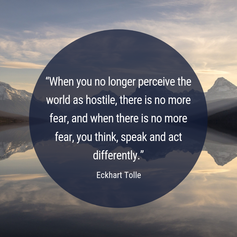 Eckhart Tolle On Twitter When You No Longer Perceive The