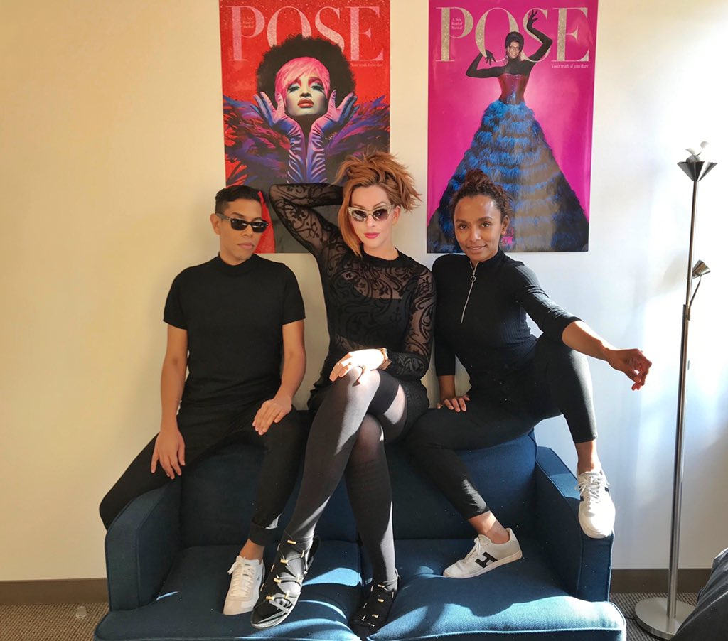 The Category is: All Black Everything!! @PoseOnFX Season 3. Coming soon #PoseFX 😉❤️