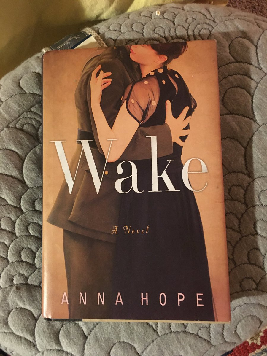 A beautiful book to read for Veterans Day. Wake is about the home and family face of war. So grateful to @Anna_Hope
