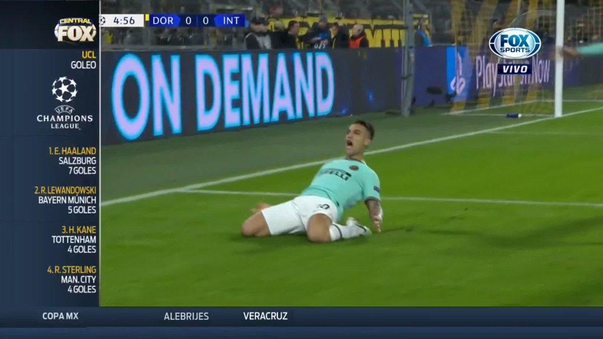 EL DÍA QUE CONVENCIÓ A LOS 'NERAZZURRI' 👀  El pasado 5 de noviembre, Achraf Hakimi se lució en el duelo del Borussia Dortmund contra Inter de Milán en #ChampionsxFOX   ¿Lo recuerdas?   https://t.co/wLvTPnM4Um