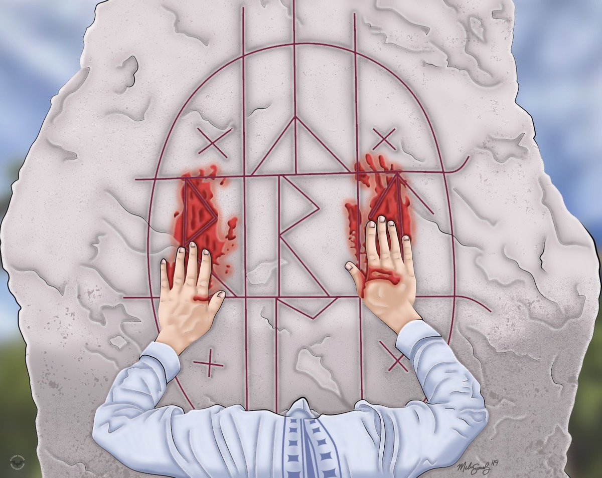 Day 23: Midsommar. #art #MelissaSanchezArt #OctoberHorrorMovieMarathon #OHMM19 #Midsommar #october #inktober #halloween #drawlloween #horror #HorrorArt #HorrorMovies #illustration #fanart #artistsontwitter https://t.co/xiaoYmuCH0