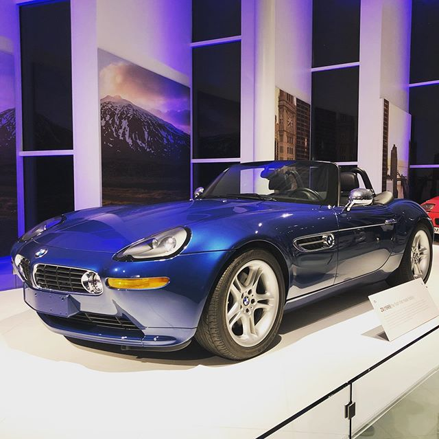 Still one of the most beautiful roadsters ever made, 20 years later. Tomorrow we get to drive a bunch of brand new 2020 BMW's for Test Fest here at their Spartanburg proving grounds. #BMWZ8
