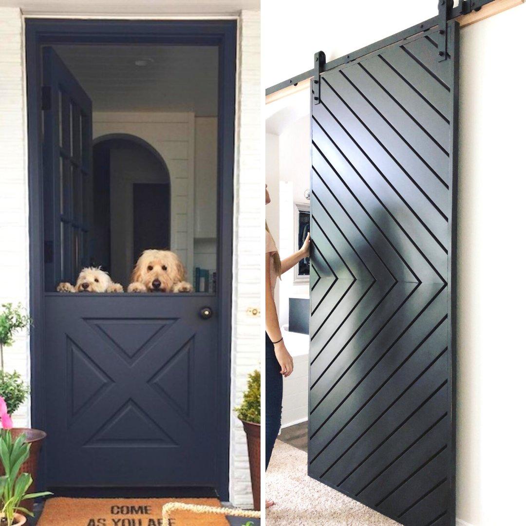 Which door trend do you prefer: Barn Doors or Dutch Doors? #house #architecture #design #designer #exterior #door #black #white #decor #home #homedecor #homedesign #classic #traditional #instadecor #instadesign #barndoor #dutchdoor #elegant #doors #interiorgoals #doorgoalspic.twitter.com/0HbxR0AlXM