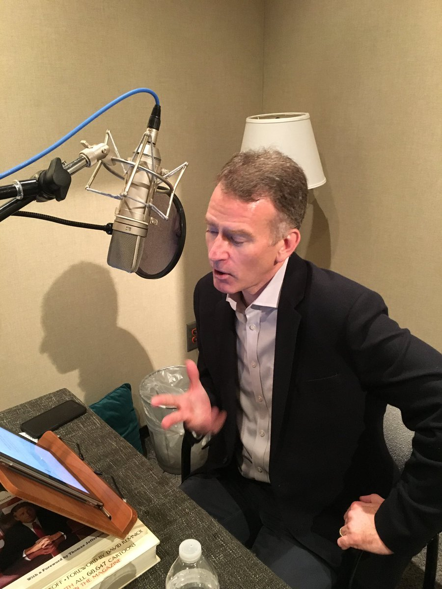 Recording the audio book for Imperfect Union, which is to be published January 14. https://www.amazon.com/Imperfect-Union-Frémont-Invented-Celebrity/dp/0735224358…