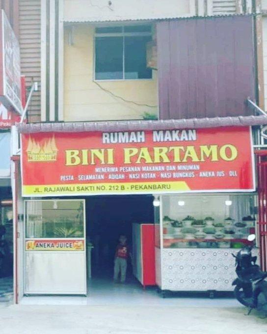 Rumah Makan Bini Partamo