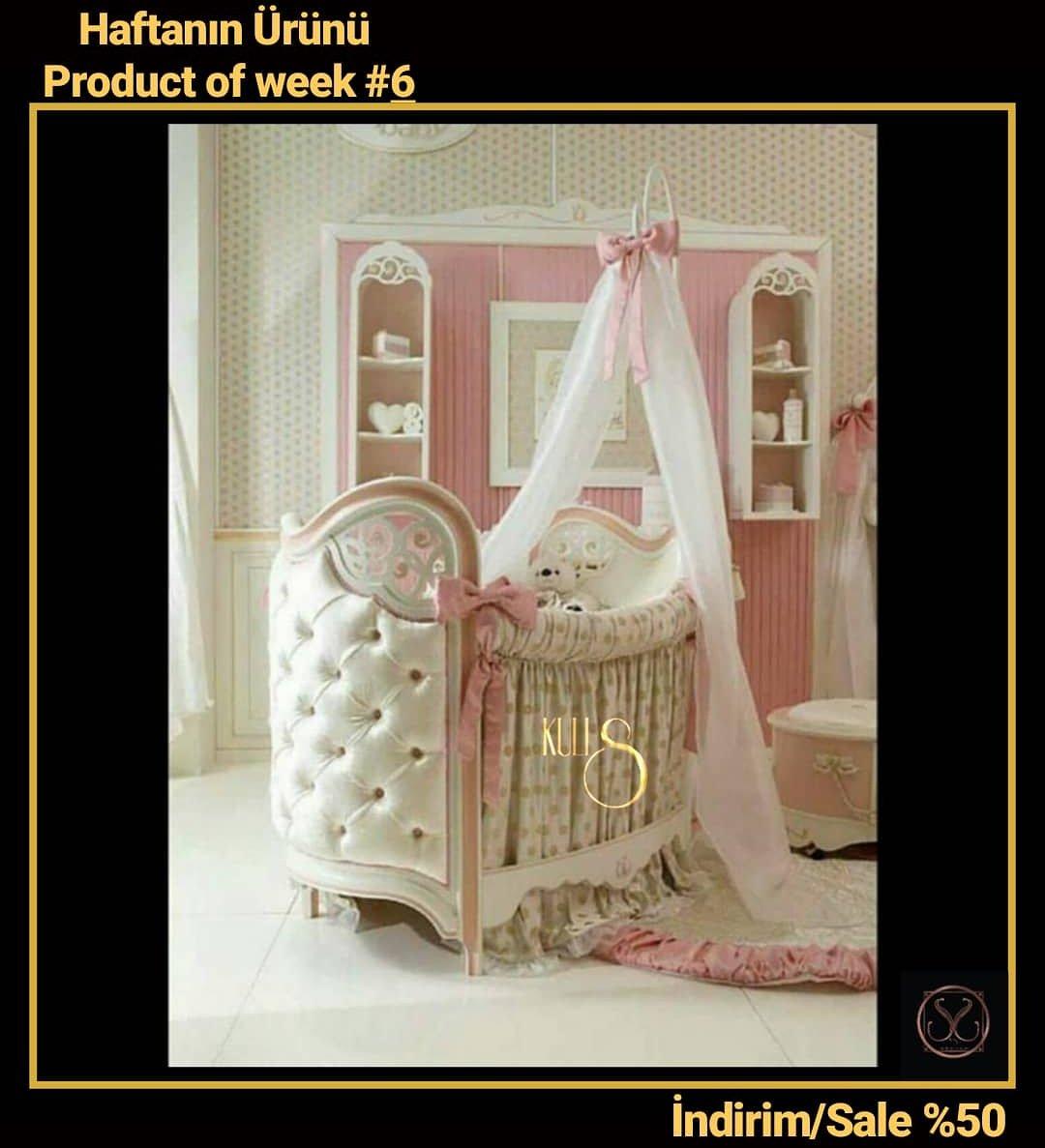 Günaydın.. 🌸🌸🎈#mobilya #dekorasyon #decoration #furniture #yatakodasi #besik #kampanya #baby #luxury #kuliscomtr