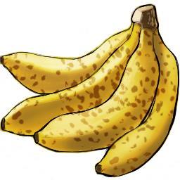 Kazma 復活中 على تويتر アイコン 256 256 サイズでバナナを描きました 熟す前 熟してる時の2パターンです Iconfruits