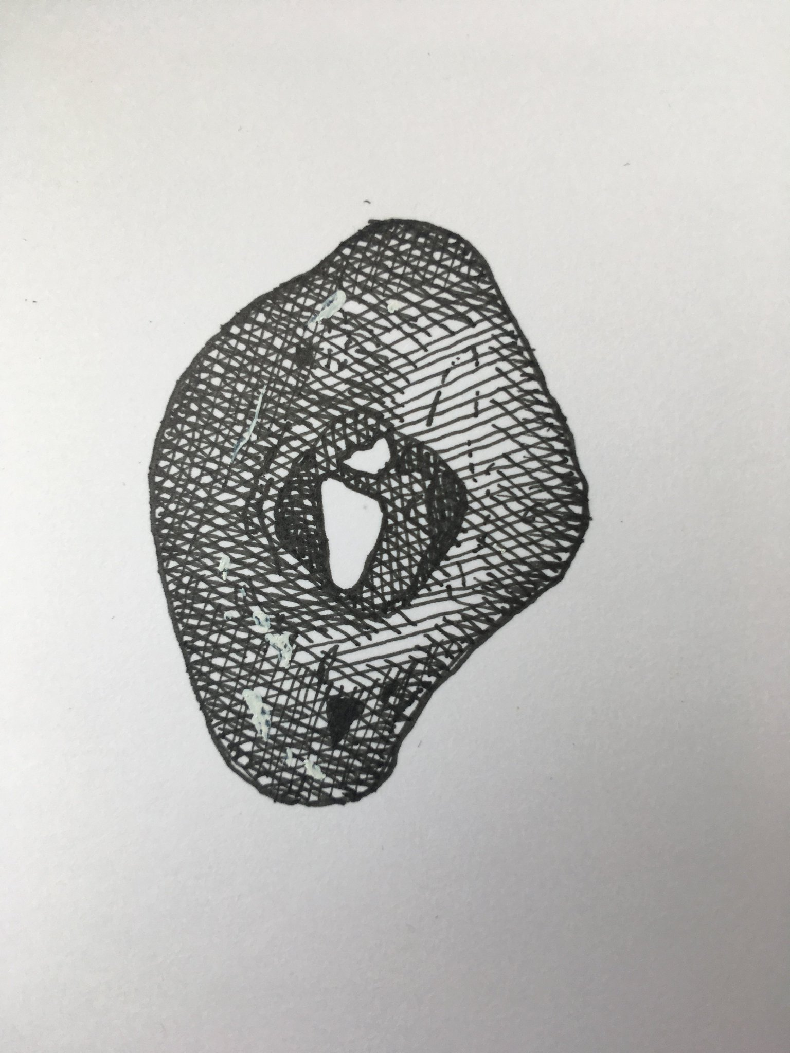 Robert Macfarlane On Twitter Word Of The Day Adder Stone Also Hagstone Holy Stone Huhnergott Chicken Stone German A Stone Usually A Flint With A Naturally Occurring Hole Through It Associated In Folklore With Crayon of stone i made crayon like arakawa river's stone. adder stone