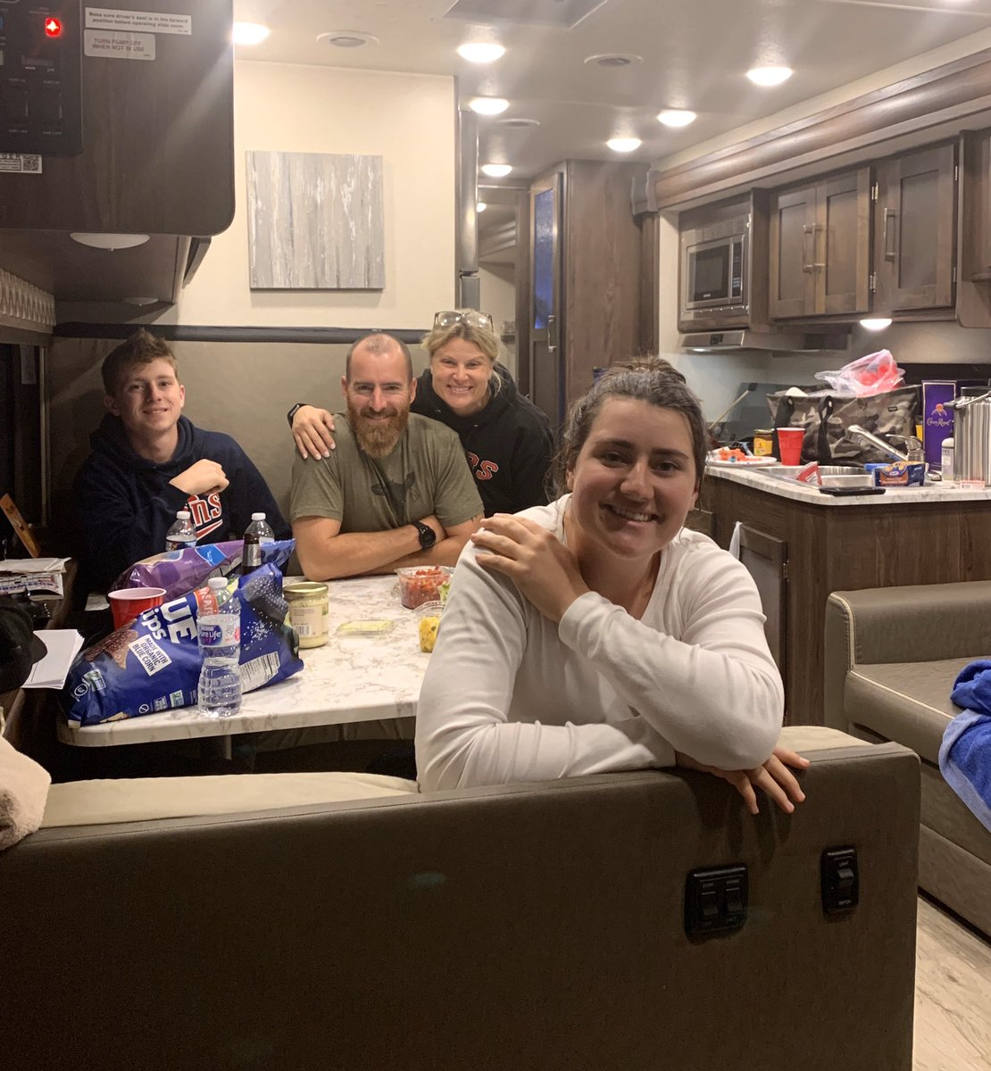 My wonderful wife gave me the best 40th birthday gift I could've got....wiped the calendar clean for 2 weeks and rented us an RV!