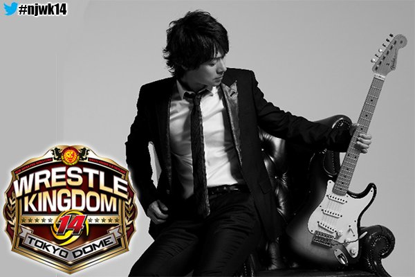NJPW Announces Wrestle Kingdom 14 Theme To Be Produced By TUBE Guitarist Michiya Haruhata