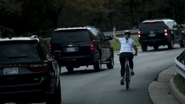 JUST IN: Woman who was fired after seen flipping off Trump's motorcade defeats GOP incumbent in Virginia race http://hill.cm/H4Z3hOL