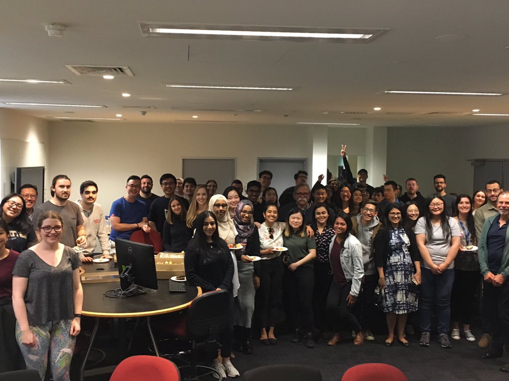 Last day for OD class of 2019! Thank you for sharing the past 4 years with us. All the very best of luck as you embark on your eyecare careers. @OptometryAus @unimelb @UniMelbMDHS