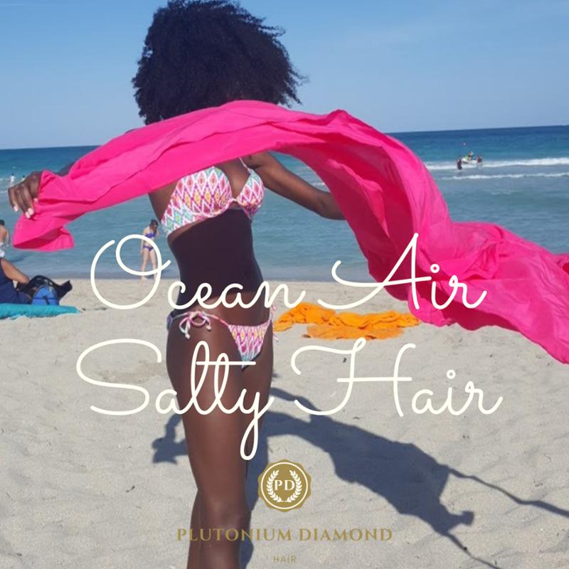 Where is the beach!? #oceanair #saltyhair * * * *  #beautifulhairstyle#fabuloushair#luxuryhair #be