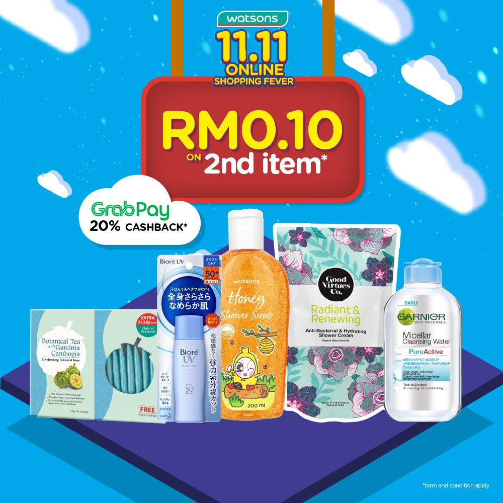 Watsons Malaysia On Twitter Online Exclusive Enjoy Rm0 10 For