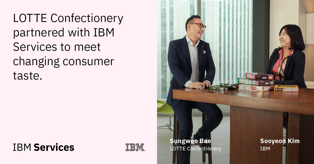 Kavya Gowda On Twitter Lotte Confectionery Ibmservices Detect Consumer Trends Accelerating Time To Market With Ai Solutions Cognitiveenterprise Breakthroughpartnerships Read The Case Study Https T Co 7egcikhtxq Ibmservices