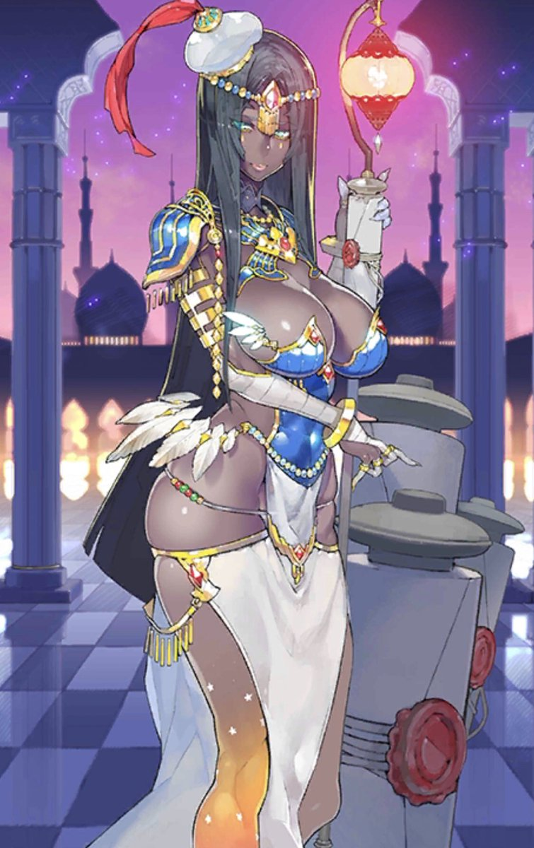 Omg @royalexislade , you would rock this cosplay so hard , Scheherazade from FGo