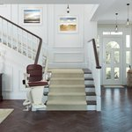 Image for the Tweet beginning: We are now offering #stairlifts.