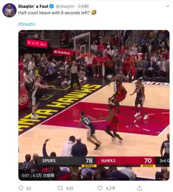 【影片】還剩8.1秒,Gay卻看成了剩1秒,半場扔超遠三分打鐵,波波維奇氣到一頓臭罵!-黑特籃球-NBA新聞影音圖片分享社區