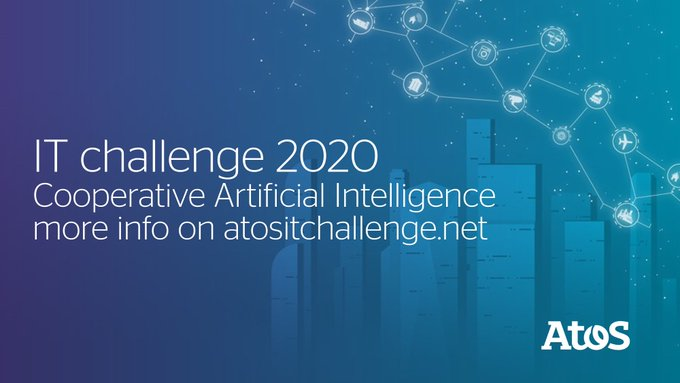 2020 #atositchallenge award ceremony will be held in Paris in July 2020. You...