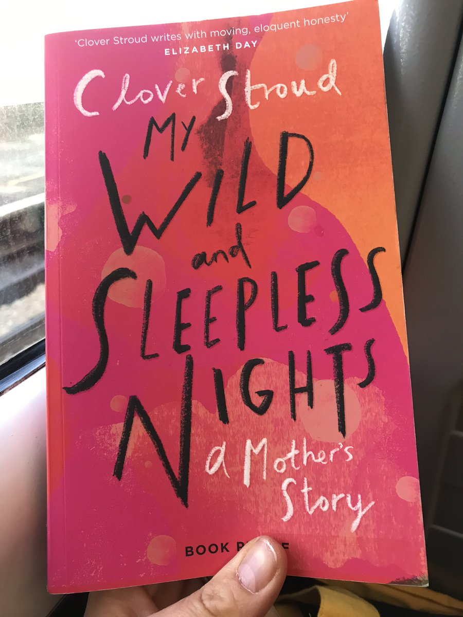 I finished #MyWildAndSleeplessNights by @cloverstroud last night & had a good old weep over Clover's relationship with her teenage son Jimmy. If you love beautifully written memoir, chaotic families & big emotions, big life lessons & wisdom then this is for you. Coming 20th Feb.