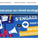 Image for the Tweet beginning: L'engagement écologique est un critère