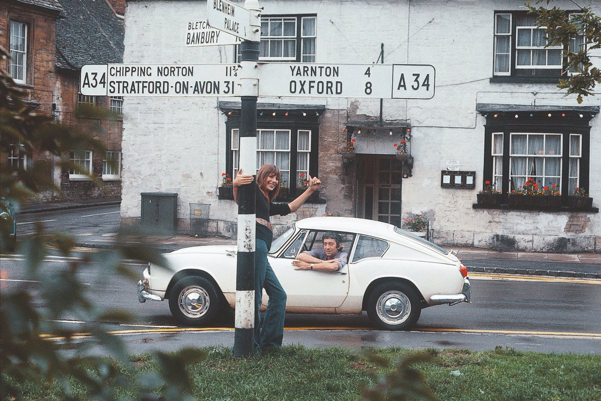 Just as an antidote to elections, heres Jane and Serge on a Cotswolds road trip.