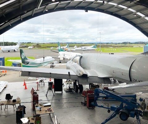 Our Client Services team were on site recently with Air Chathams, getting them up and running with ENVISION's Flight Operations module... #mro #software