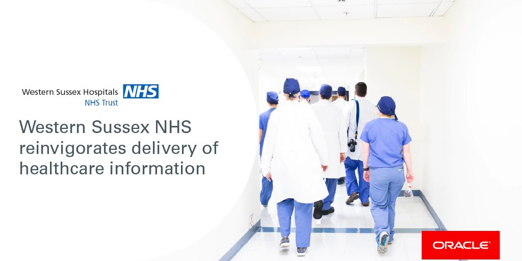 Western Sussex #NHS Foundation Trust can give new #parents information about their new born, 24/7, accessible by smartphone, tablet or #computer. 💻👶 Watch this video to find out more: blogs.oracle.com/futurestate/we…